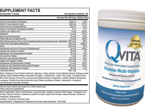 Qvita Ingredients