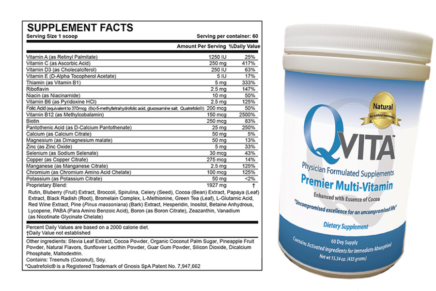 Qvita Ingredients